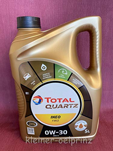 Total Quartz INEO First 0W-30 ACEA C1 - Termo (5 L) Bidón.