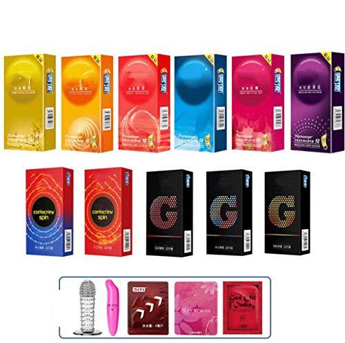 Ultra-Thin Condoms in bulk, 11 soorten van ultra-lange vertragingen effectief te voorkomen Premature Ejaculation110pcs