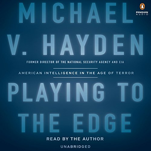 Playing to the Edge audiobook cover art
