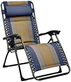 AmazonBasics Gepolsterter Entspannungs-Liegestuhl, Blau