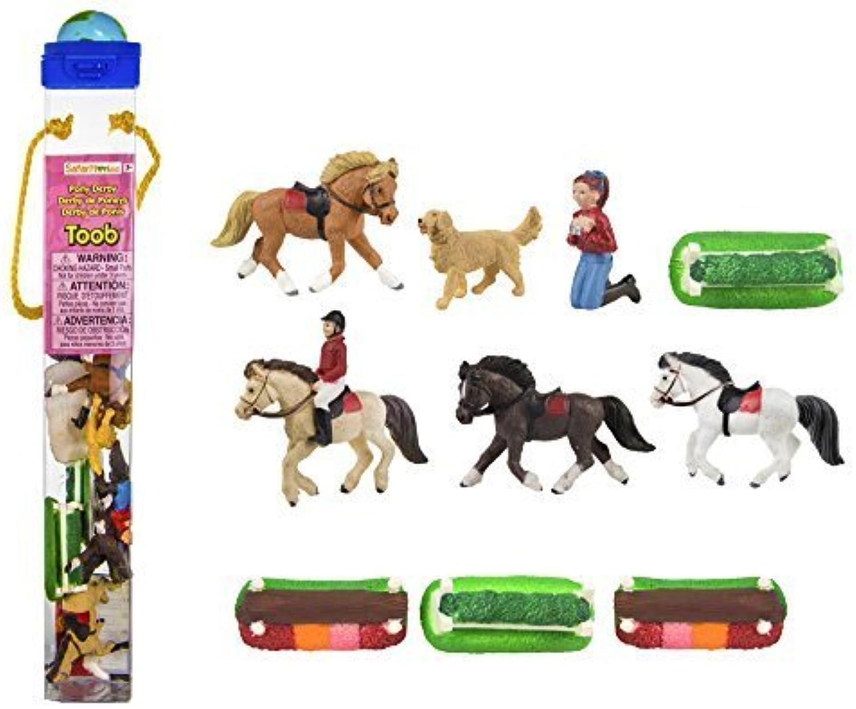 Toob Safari Pony Derby Miniatures by Sarafi
