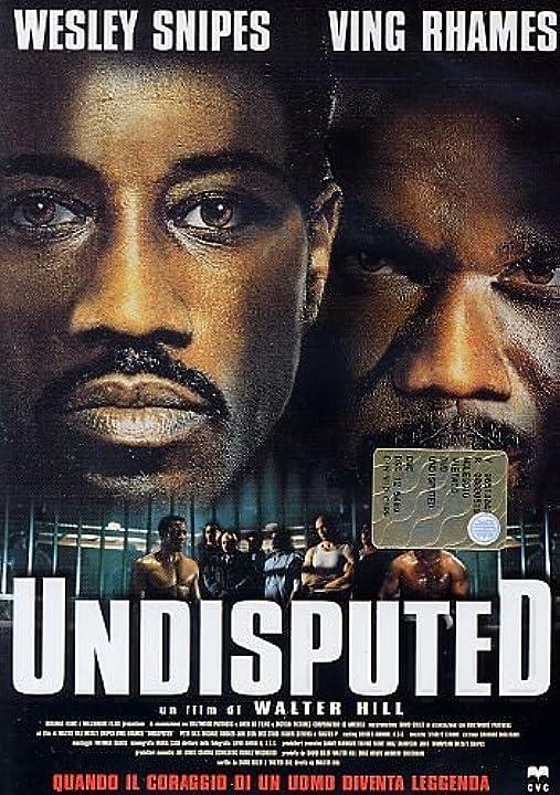 Film dvd - undisputed - wesley snipes B0041KWRY2