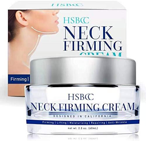 HSBCC Neck Firming Cream with Peptides Neck Cream Neck Moisturizer Cream Anti Wrinkle Anti Aging product image