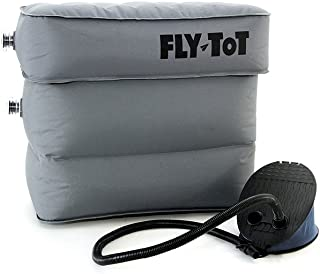 Fly Tot Inflatable Airplane Cushion (Single Unit - One cushion, One pump)
