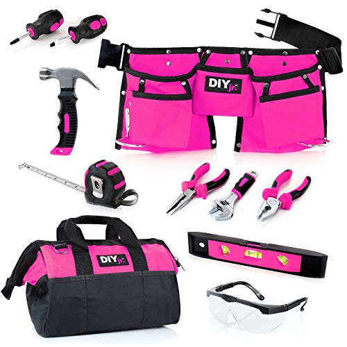 My First Tool Set - Pink by DIY Jr. -...
