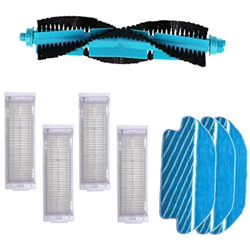 YBINGA Cepillo lateral Mopa Pad Roller Brush HEPA filtro accesorio para cecotec Conga 3290 3490 3690 Partes de aspirador Partes de aspirador