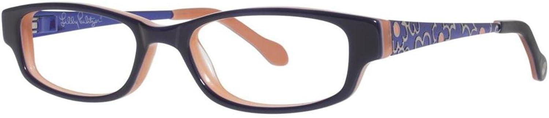 LILLY PULITZER Eyeglasses LINZY Navy 45MM