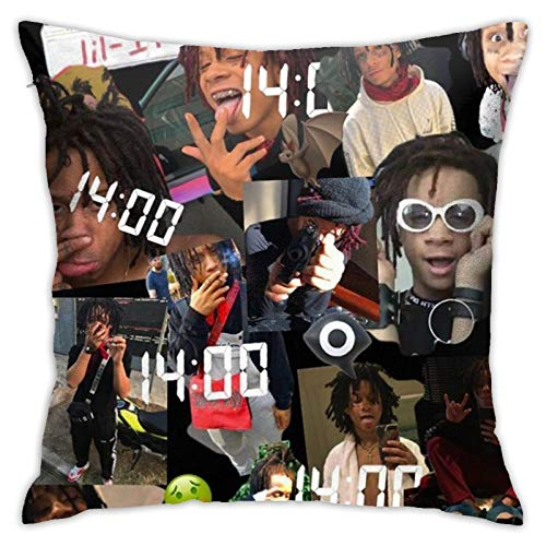 Lopez Kent Trip-Pie Redd Not Easy to Be Deformed, No Ball Export Quality, Chair Cushions, Car Cushions, Interior Decorations Pillow 18inch18inch
