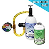 Car Aircon Air Con Air Conditioning Gas Top up Recharge Refill Regas Tool Kit