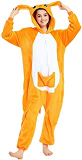 Mono Kigurumi para Usar como Pijama o Disfraz para Carnaval, Halloween o Cosplay; Unisex, con diseño de Animales: Unicornio, búho, Stitch, Cebra, Jirafa, Vaca