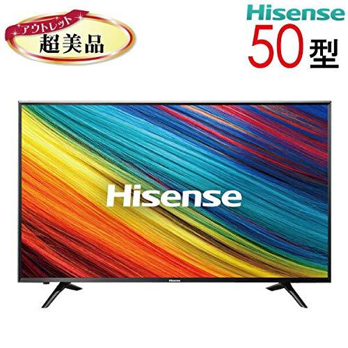 ハイセンス Hisense 50V型 液晶 テレビ HJ50N3000 4K 外付けHDD裏番組録画対応 メーカー3年保証