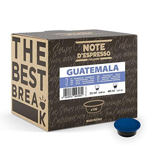 Note d'Espresso - Guatemala - Cápsulas de Café para las Cafeteras LAVAZZA* A MODO MIO* - 100 caps