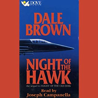 Night of the Hawk audiobook cover art