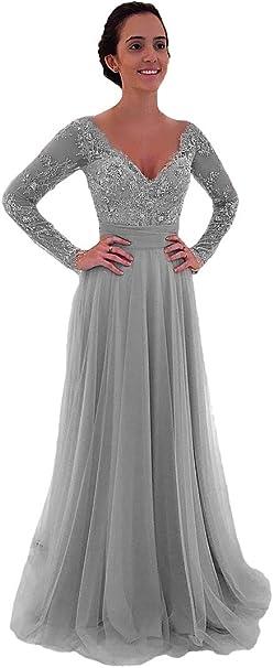 Shinegown 2 Stuck Kleider Fur Brautmutter Lange Armel Mit Abnehmbarem Rock V Ausschnitt Kurze Cocktailparty Kleid Amazon De Bekleidung