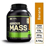Optimum Nutrition Serious Mass, Mass Gainer Whey, Proteines Musculation Prise de Masse avec Vitamines, Creatine et Glutamine,...