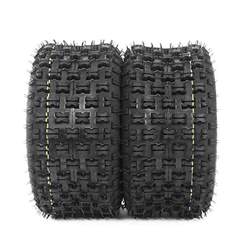 Roadstar Set of 2 20x10-9 All Terrain ATV UTV Tires 20x10x9 for Yamaha Raptor Banshee/Honda 400ex 450r 660 700 400 450 350 250, Sport 4PR Tubeless P336