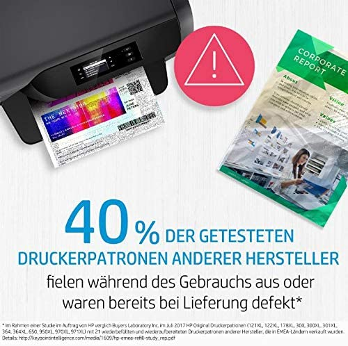 Hp 981a Pagewide Original Kartusche Schwarz J3m71a High Yield Magenta Bürobedarf Schreibwaren