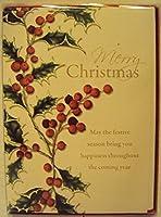 クリスマスハウス( Merry Christmas Holly )カード