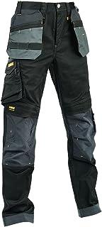 DEWALT Workwear Harrison Slim Fit Stretch Black/Grey Work Trousers DWC148-001