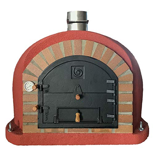 Mediterrani Royal - Outdoor Wood Fired Pizza Oven - 100cm