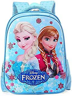 Cartoon lovely School Bags For Boys Girls Waterproof Backpacks Child Frozen Book bag Kids Shoulder Bag Satchel Knapsack qy