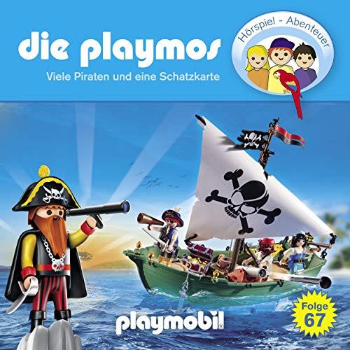 Viele Piraten und eine Schatzkarte. Das Original Playmobil Hörspiel cover art