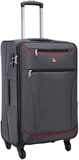 Trolley Case Business Suitcase with 4 Wheels, The Cabin is Allowed to Carry Large Capacity Travel Bags (Color : Gray, Size : 20-inch)