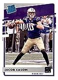 2020 Panini Chronicles Draft Picks Donruss Rated Rookies #10 Jacob Eason RC Rookie Washington Huskies Football Trading Card. rookie card picture