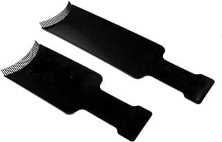 Sharplace 2本 ヘアカラーボード 染色櫛 染色プレート ヘアカラー