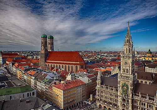 PosterHub Building Germany München FC...