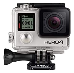 Professional 4K30, 2.7K60 and 1080p120 video, 720p240 video for super slow-motion playback and 12MP photos at up to 30 frames per second Built-in Wi-Fi and Bluetooth support the GoPro App, Smart Remote and more Improved camera control and built-in vi...