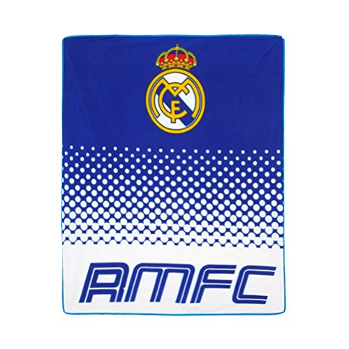 UKSoccershop Real Madrid F.C. Fleece Blanket FD