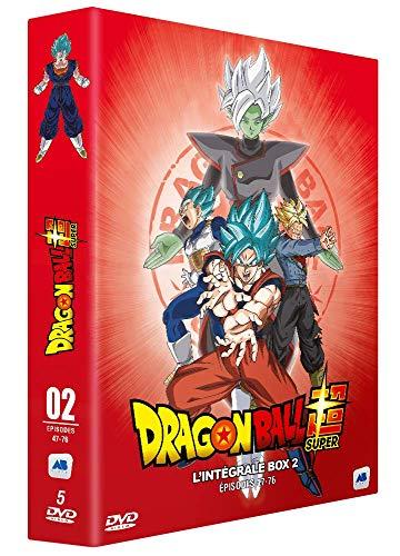 Coffret dragon ball super, partie 2, épisodes 47 à 76