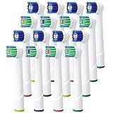 Recambios Cepillo Oral B Compatible, QLEBAO 16 Cabezales para Oral B,...