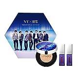 [VT X BTS] Juego de edición especial dulce, funda rígida + cojín brillante + líquido de labios de ratón 2EA + tarjeta emergente BTS) (#23 Beige)