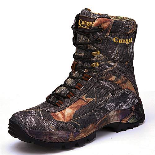 Yuyudou Winter High-Top wandelschoenen voor mannen, outdoor woestijn tactische laarzen trekkingschoenen