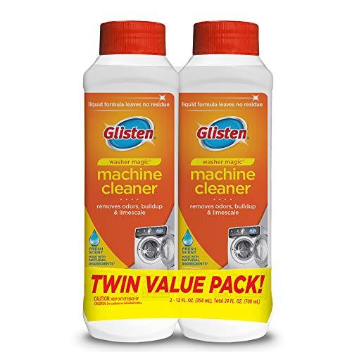 Glisten WM03N-SS. Washer Magic Washing Machine Cleaner & Deodorizer, 2 Pack, 24 Fl Oz