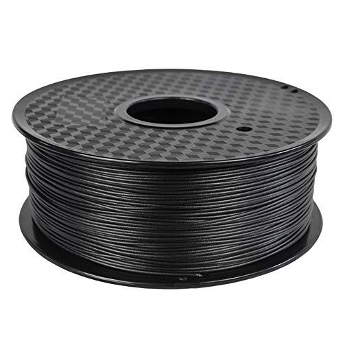PC Carbon Fiber Polycarbonate Filament 1.75mm, 3D Printer Filament 1kg (2.2lb), High Hardness, High Strength-Carbon black 5kg
