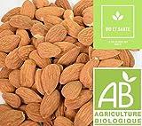 Amandes Décortiquées Bio De Qualité Extra, 1 kg, Fruit Sec Energétique Pour Votre...