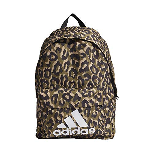 Adidas GP4461 BOS BP LEOPARD Sports backpack Women multicolor/black/hazy beige/white NS