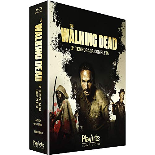 The Walking Dead 3A Temp - Blu-Ray (4 Discos)