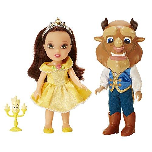 Disney Princess la Belleza y la Bestia Sea Nuestro huésped Twin Pack muñeca
