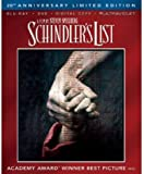 Schindlers List (Blu-ray/DVD, 2013, 3-Disc Set, 20th Anniversary)