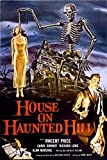 Studio B Laminated House on Haunted Hill- Vincent Price Poster 24x36