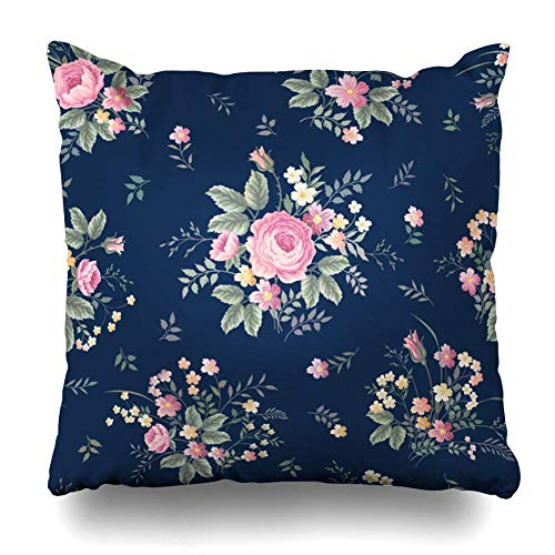 Egoa Kussensloop roze zomer bloemenpatroon Rose Vintage Green Spring bouquet op tuin abstracte textuuren plant ziekenhuis naar huis decoratieve vakantie Home Decor kussen kussensloop