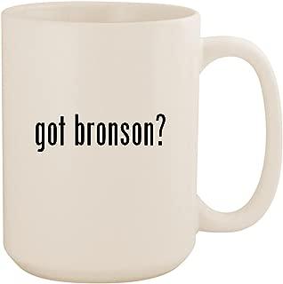 got bronson? - White 15oz Ceramic Coffee Mug Cup