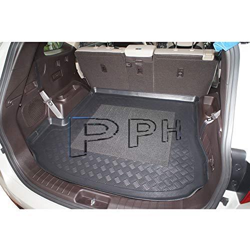X & Z PPH - Kofferraumwanne für Santa Fe 3 (DM) Grand 7-Sitze Bj. von 2013-2018 - Antirutsch