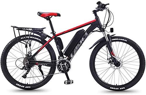 Alta velocidad Bicicletas de montaña eléctrica for adultos, Todo Terreno conmuta el tren de rodaje deportivo de bicicletas de montaña completa 350W trasera del motor de ruedas, 26 '' Fat Tire E-Bici M