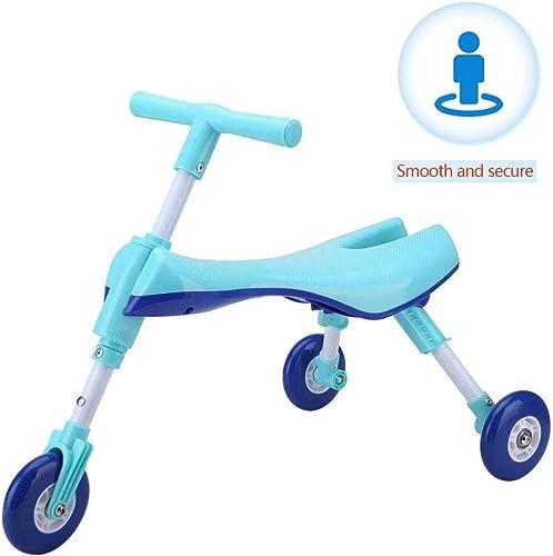 YLCQ Trougeteur pour Enfants, Scooter Léger Et Pliant, Siège Confortable, Jouets De Plein Air