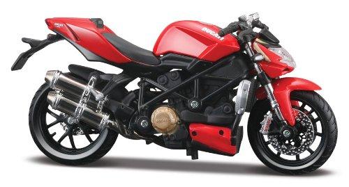 Bauer Spielwaren - Motorrad-Modellbausätze in Rot, Größe 1:12